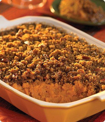 Praline Pecan Sweet Potatoes
