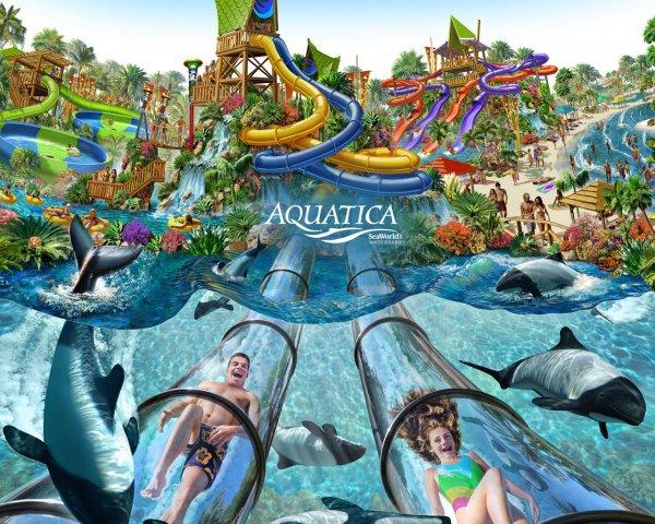 Aquatica In Orlando Usa