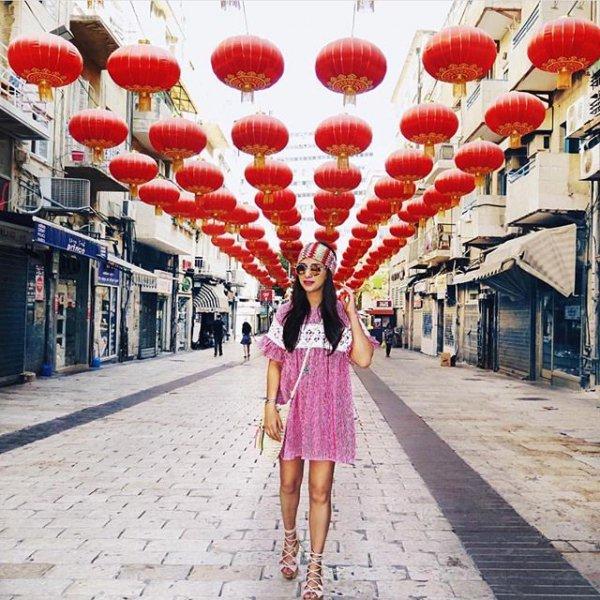 color, red, street, flower, market,