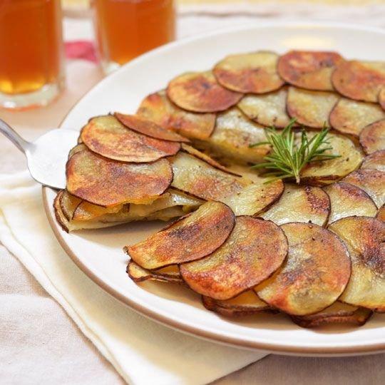 Savory Potato and Leek