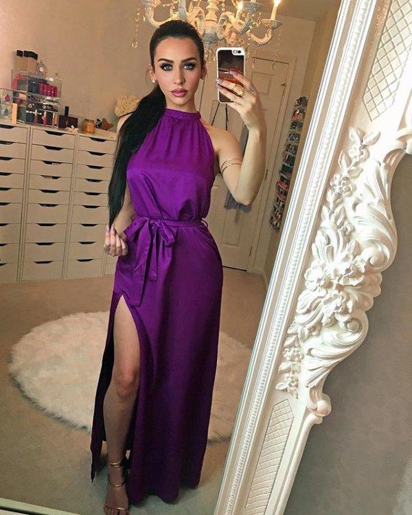 clothing, woman, purple, lavender, lilac,