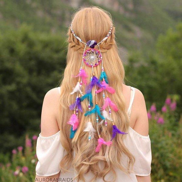 clothing, hair, hairstyle, dress, flower,