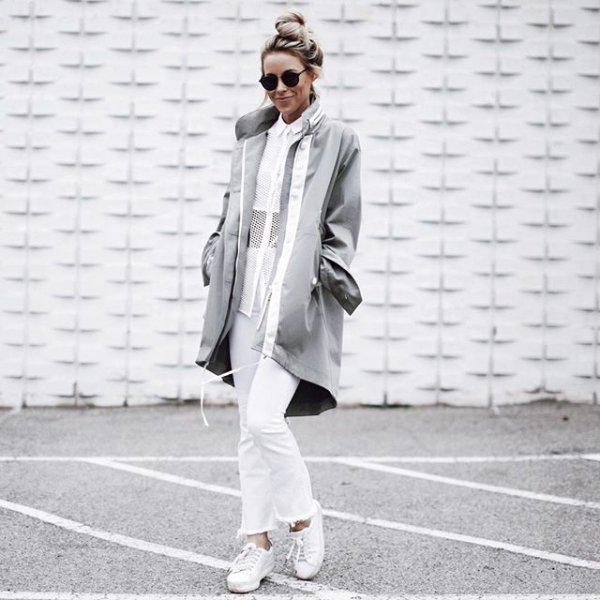 white, clothing, suit, spring, footwear,
