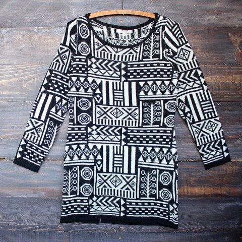 Dress to Impress Sweater Dress - Black Sand