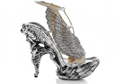 Alexander McQueen Angel Wing Shoes