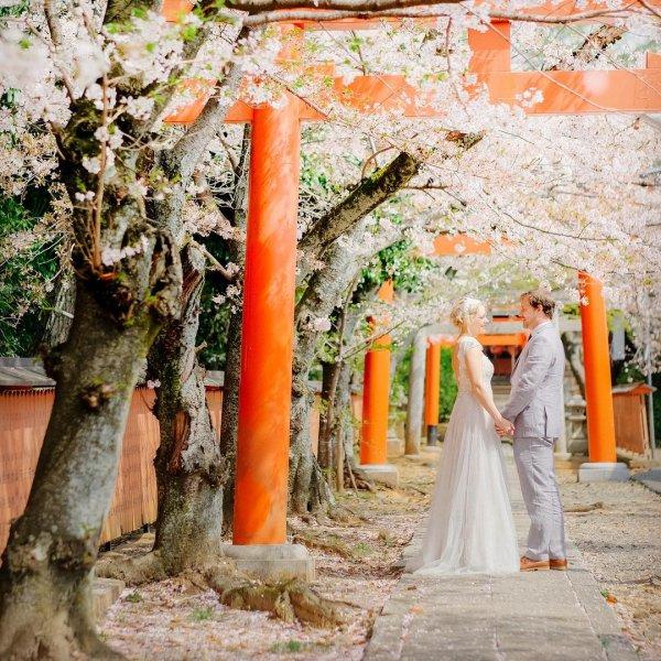 Photograph, Orange, Tree, Ceremony, Dress,