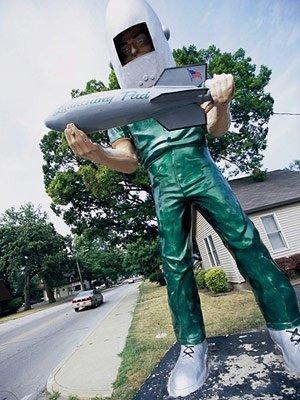 Gemini Giant, Wilmington, Illinois