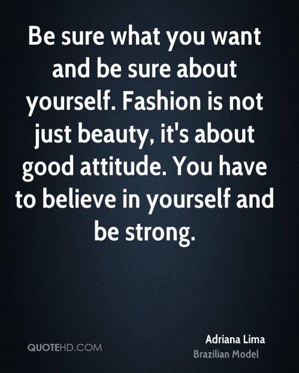 Fashion Isn't Just Beauty