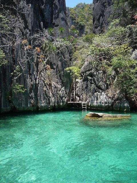 Secret Lagoon Beach, El Nido, the Philippines