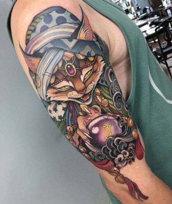 tattoo, arm, shoulder, temporary tattoo, tattoo artist,