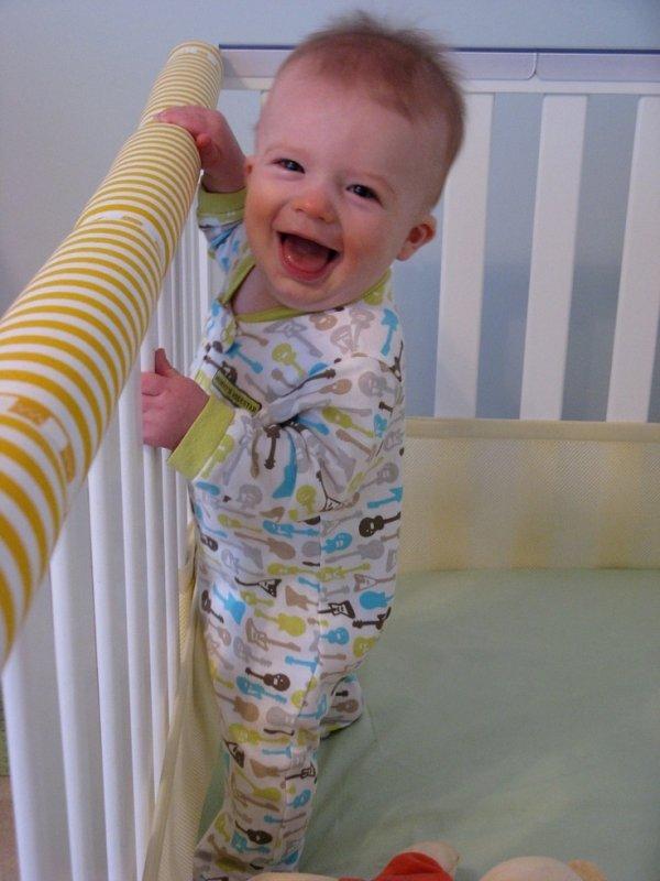 Crib Teething Rail