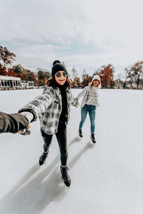 Eyewear, Ice skating, Winter, Fashion, Snow,