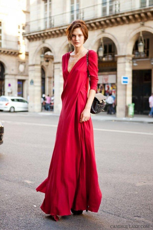 Low-Cut Dresses