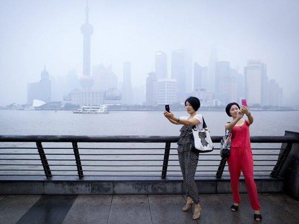 Shanghai Selfies - by Jian Gao