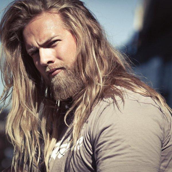 "His Facial Hair Won Him the Title ""Beard of Norway 2015"""