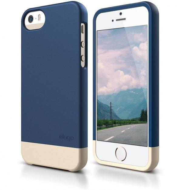 IPhone 6 Case, Jean Indigo & Champagne Gold