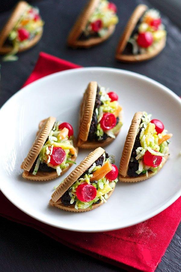 Oreo Taco Cookies