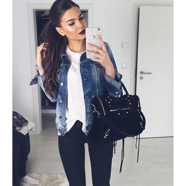 clothing, denim, jacket, sleeve, outerwear,