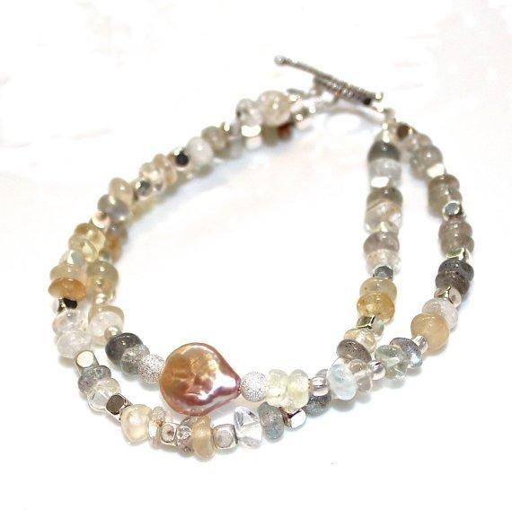 Ceylon Moonstone Bracelet