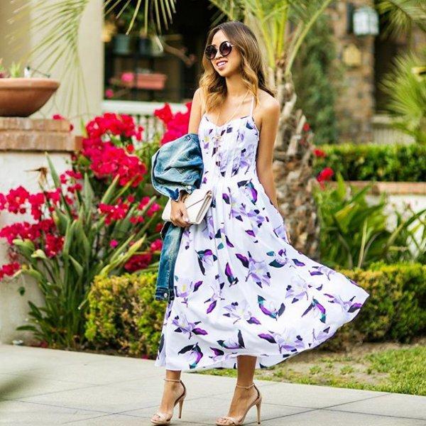 clothing, spring, magenta, dress, pattern,