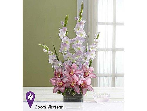flower,flower arranging,pink,plant,moth orchid,