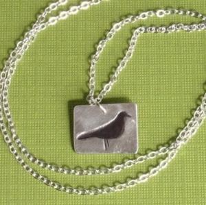 Bird Silhouette Necklace