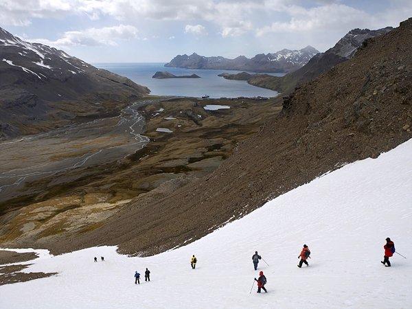Shackleton's Route, South Georgia Island