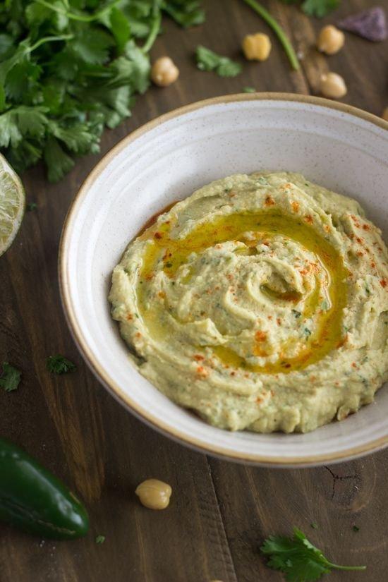 Jalapeno Lime Hummus