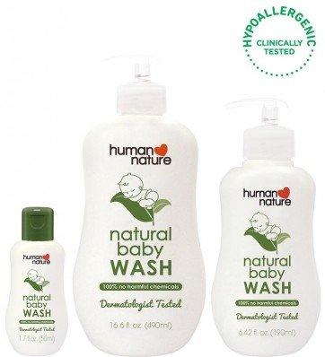 Human Nature Baby Wash