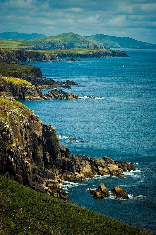 Dingle Peninsula,Dingle,coast,sea,nature,