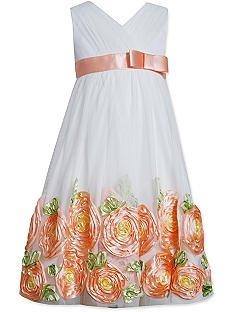Bonnie Jean Flower Bonaz Dress