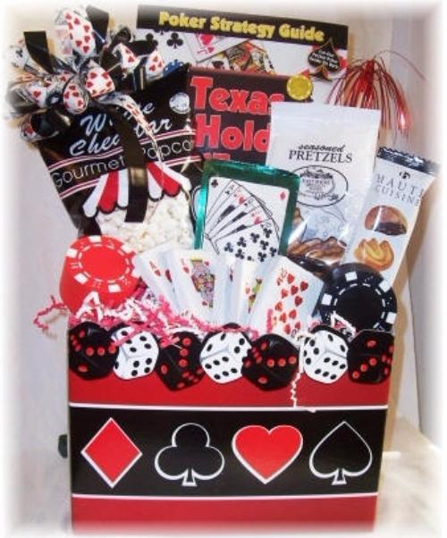 Poker player 16 insanely easy easter basket ideas for men gift basketfoodgiftehedgourmet negle Choice Image