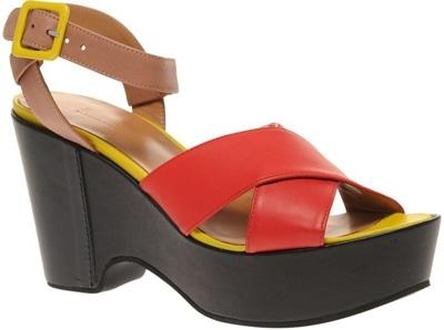 Sonia by Sonia Rykiel Dulchinee Strappy Wedge Sandals