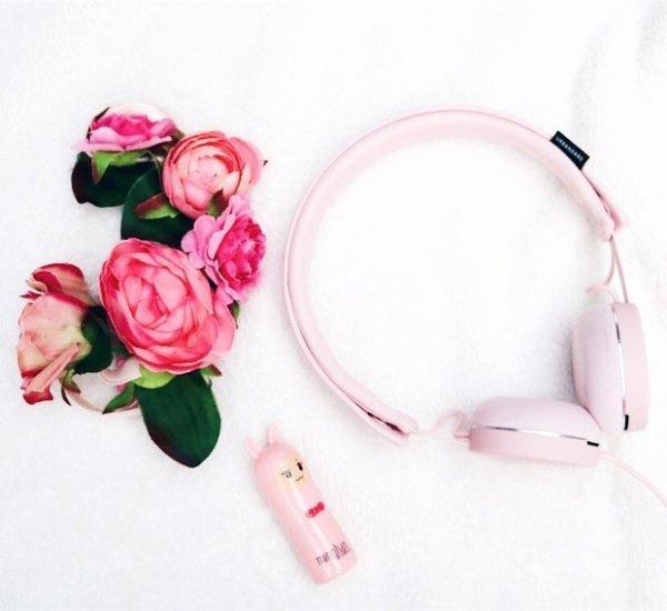 pink, flower, fashion accessory, petal, audio equipment,