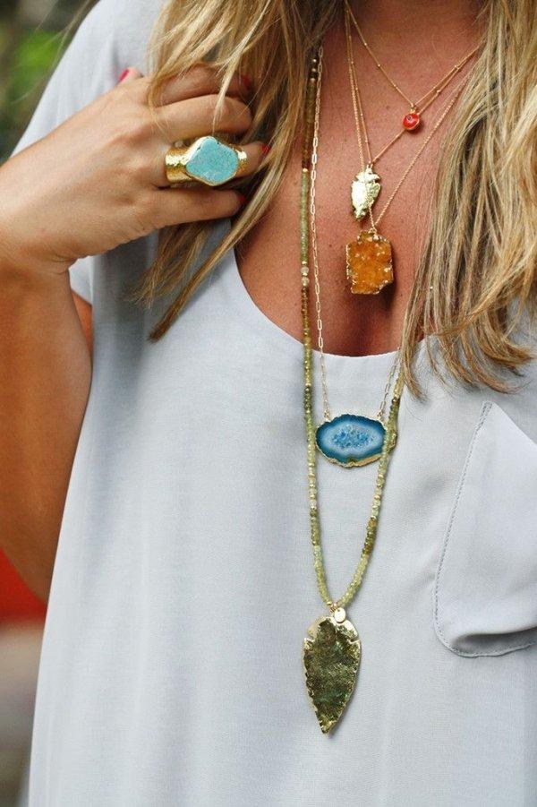Blue ZONI Necklace