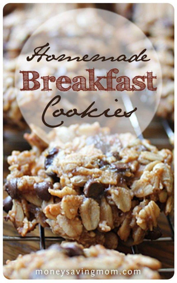 Homemade Breakfast Cookies