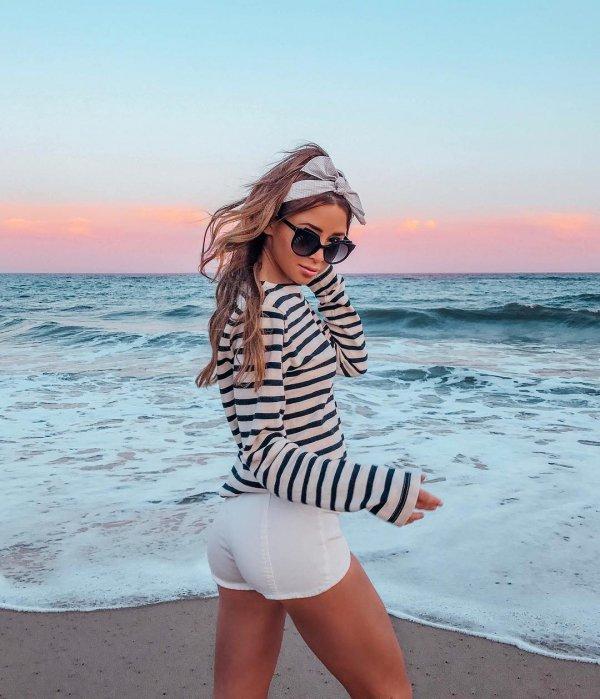 clothing, swimwear, shoulder, sunglasses, vacation,