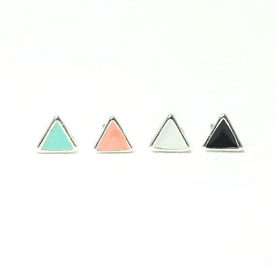 triangle,earrings,jewellery,fashion accessory,triangle,