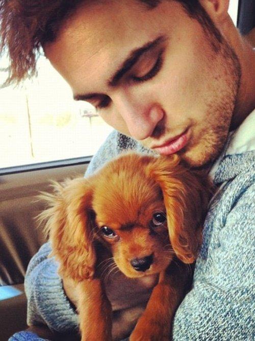 Boy & His Puppy