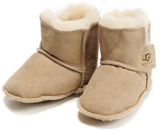 Australia Baby Erin Sand Sheepskin Booties