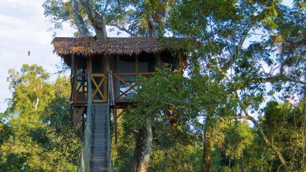 Inkaterra Canopy Treehouse, Tambopata National Reserve, Peru