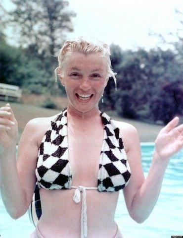 Marilyn Monroe Not Giving a Damn