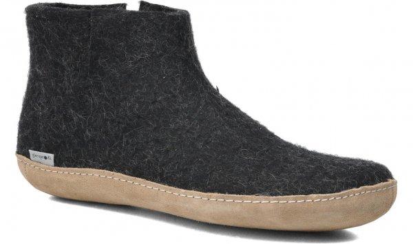 Men's Model G, 100% Wool Slipper Boot