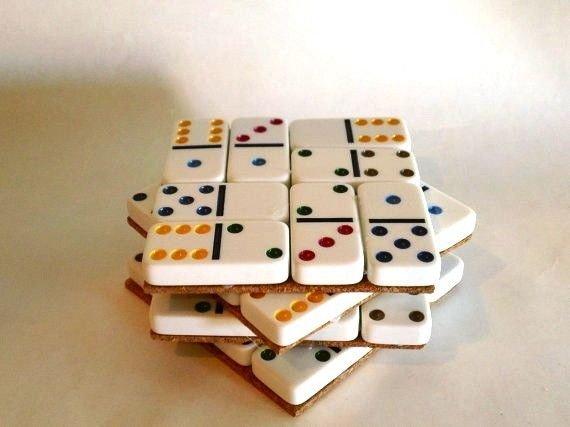 Domino Coasters