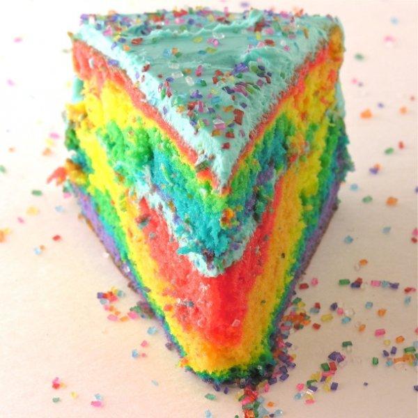 The Second of Many, Many Rainbow Cakes