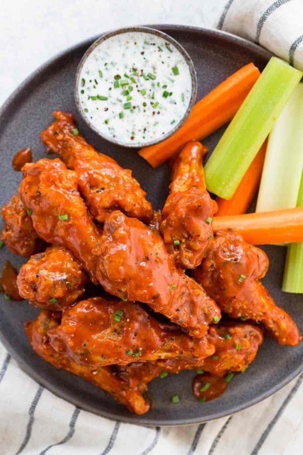 Dish, Food, Cuisine, Fried food, Buffalo wing,