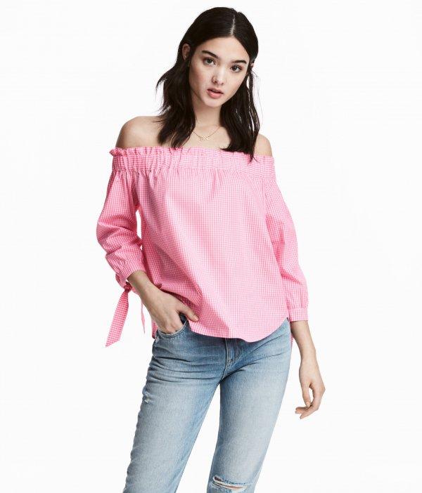 clothing, sleeve, pink, t shirt, blouse,