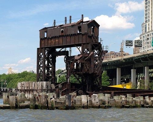 New York Central Railroad 69th St. Transfer Bridge, Manhattan