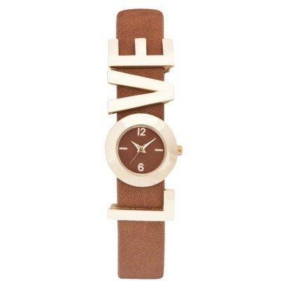 Target's Woman's Xhilaration Love Strap Watch