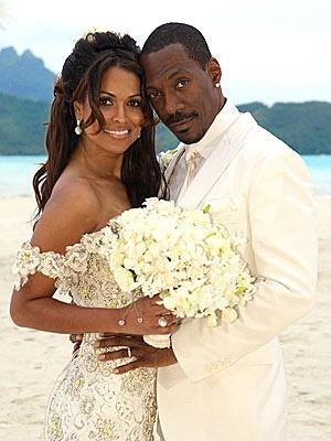 Eddie Murphy and Nicole Mitchell